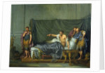 The Emperor Severus Rebuking his Son, Caracalla, for Wanting to Assassinate Him by Jean Baptiste Greuze