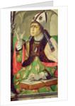 Portrait of St. Augustine by Joos van Gent