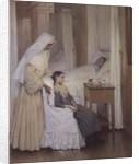 At Notre-Dame du Perpetuel Bon Secours Hospital by Henri Jules Jean Geoffroy