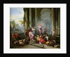 Christ Driving the Merchants from the Temple by Giovanni Paolo Pannini or Panini