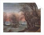 Winter Landscape, 1610 by Denys van Alsloot