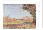 September Morning by Alfred Sisley