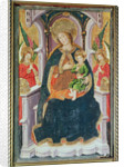 Virgin and Child with Angel Musicians by Master of Burgo de Osma