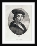 Portrait of Francois Villon by Ludwig Rullmann