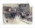 The Entrance into Belfort of the German Commander Bearing the Flag of Truce by Alphonse Marie de Neuville