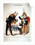 'Ah good, Bismarck! What victory have you come to tell me about ?...' by French School