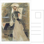 Madeleine Carlier by Paul Cesar Helleu
