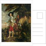 King Charles I of England out Hunting by Sir Anthony van Dyck