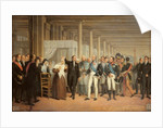 Cataract Operation Performed by Guillaume Dupuytren in the Presence of King Charles X at the Hotel Dieu by French School