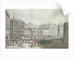Napoleon's coronation procession passing the Council of State by French School