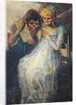 Time of the Old Women by Francisco Jose de Goya y Lucientes