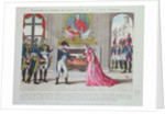 Magnanimity of Emperor Napoleon towards the Princess of Hatzfeld by French School