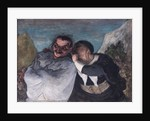 Crispin and Scapin, or Scapin and Sylvester by Honore Daumier