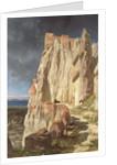 The Rock of Vann, Kurdistan by Jules Joseph Augustin Laurens