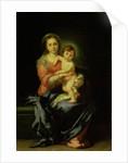 Madonna and Child, by Bartolome Esteban Murillo
