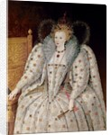 Queen Elizabeth I of England and Ireland by English School