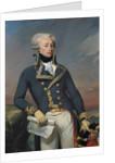 Portrait of Gilbert Motier the Marquis de La Fayette as a Lieutenant General by Joseph Desire Court