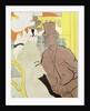 The Englishman at the Moulin Rouge by Henri de Toulouse-Lautrec
