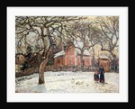 Chestnut Trees at Louveciennes by Camille Pissarro