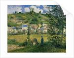 Landscape at Chaponval by Camille Pissarro