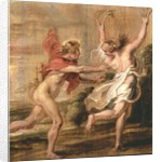 Apollo and Daphne by Peter Paul Rubens