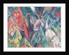 In the Rain by Franz Marc
