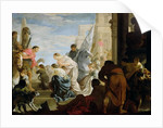 The Meeting of Anthony and Cleopatra by Sebastien Bourdon