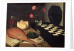 Still Life with Chess-board by Lubin Baugin