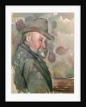 Self Portrait by Paul Cezanne