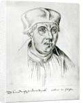 Ms 266 f.257 Portrait of Thomas Wolsey, cardinal of York by Flemish School