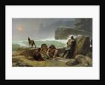 The Gaulish Coastguards by Jean Jules Antoine Lecomte du Nouy