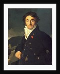 Portrait of Charles Cordier 1811 by Jean Auguste Dominique Ingres