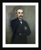Portrait of Georges Clemenceau by Edouard Manet