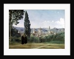 View of Florence from the Boboli Gardens by Jean Baptiste Camille Corot