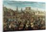 The Arrival of Empress Maria Theresa of Austria at Pressburg (Bratislava) on by Austrian School