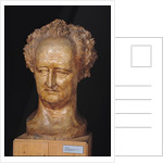 Bust of Johann Wolfgang von Goethe by Pierre Jean David d'Angers