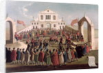 Game of Football at Sant'Alvise, Venice by Gabriele Bella