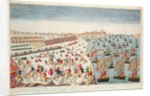 The Battle of Yorktown by French School