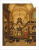 Funeral of Louis Belmas at Cambrai Cathedral by Antoine Louis Saint-Aubert