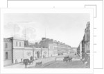 View of the Bank of France from the Rue Croix-des-Petits-Champs by Henri Courvoisier-Voisin