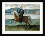 Equestrian Portrait of Henri IV King of France, before the walls of Paris by French School