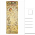 La Dame aux Camélias, with Sarah Bernhardt by Alphonse Marie Mucha