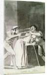 Cut the Old (Parten la vieja) by Francisco Jose de Goya y Lucientes