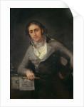 Portrait of a Man, formerly thought to be Don Evaristo Perez de Castro by Francisco Jose de Goya y Lucientes