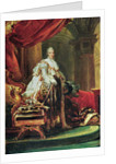 Full-length Portrait of Charles X, King of France and Navarre by Francois Pascal Simon