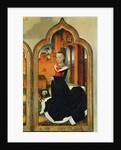 Triptych of Jean de Witte, right panel: Maria Hoose, wife of Jean de Witte by Flemish School