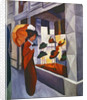 In front of the Hat Shop by August Macke