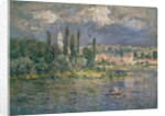 Landscape with a Thunderstorm, Vetheuil by Claude Monet