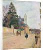 A Village Road by Paul Gauguin