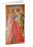 Triptych depicting the Coronation of the Virgin by Fra & Lippi